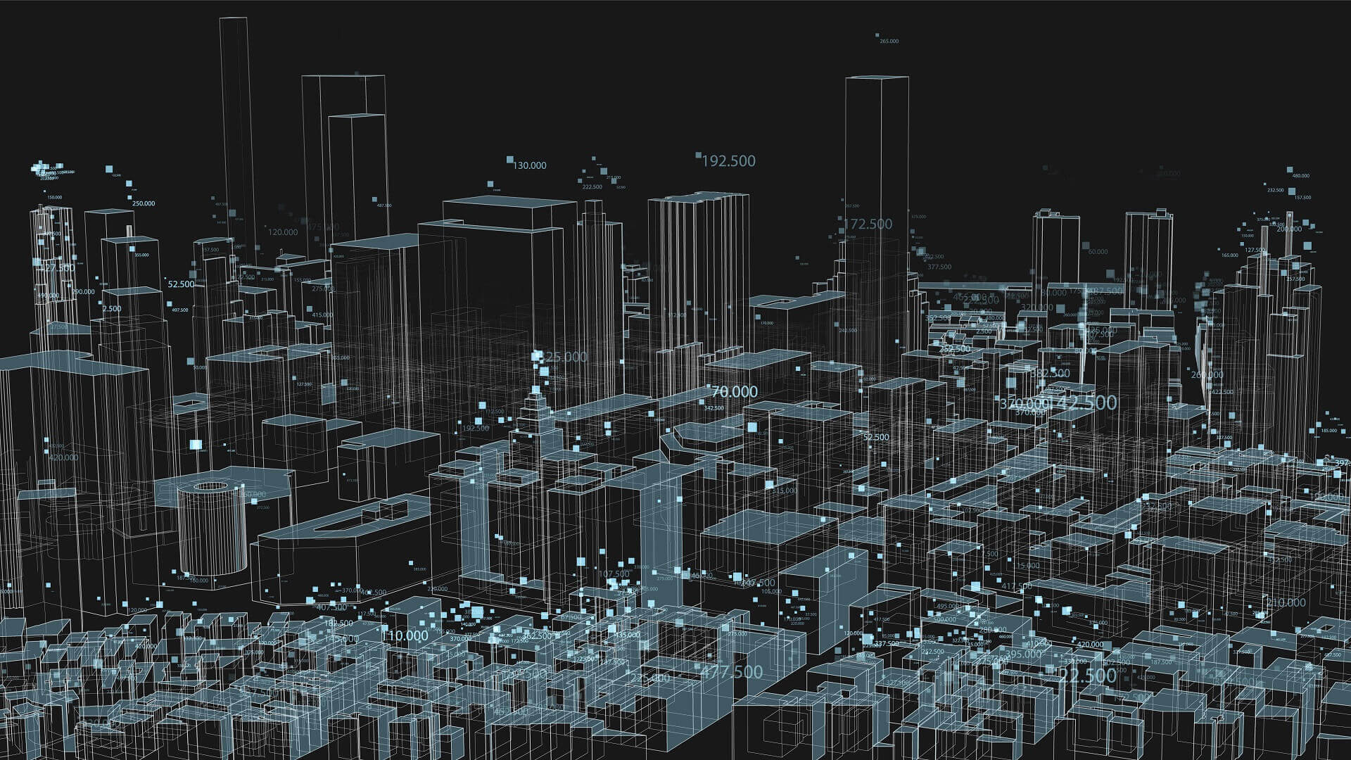 Physical Perception of Big Data: Enhencer's Multivariate Analysis