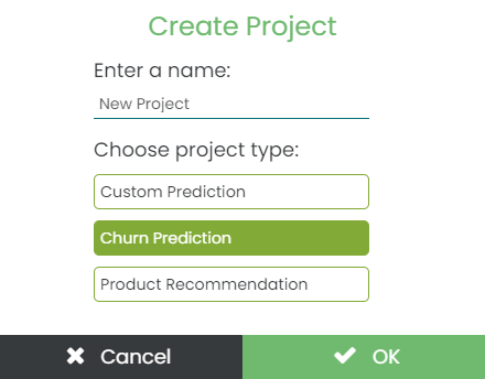 Churn Project Type